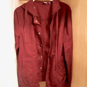 Burgundy BP Jacket